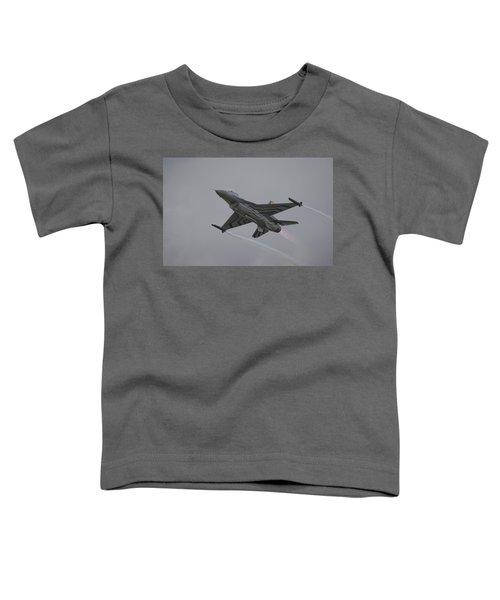 Raf Scampton 2017 - F-16 Fighting Falcon Toddler T-Shirt