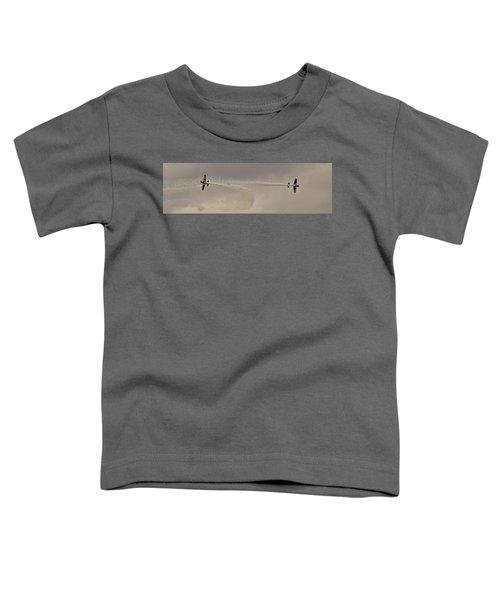 Raf Scampton 2017 - Global Stars Quick Break Toddler T-Shirt