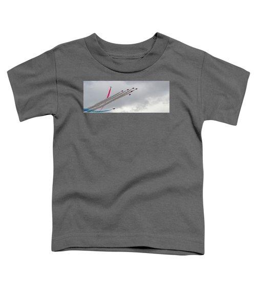 Raf Scampton 2017 - Red Arrows Tornado Formation Toddler T-Shirt