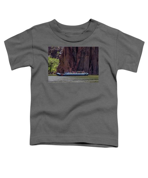Rafters On The Colorado River, Grand Canyon Toddler T-Shirt