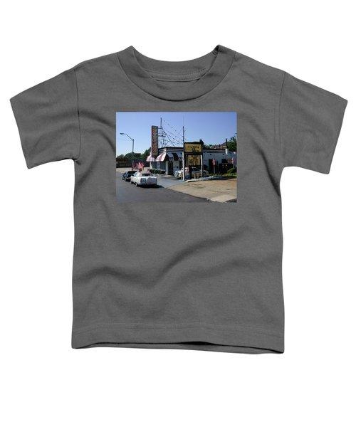 Toddler T-Shirt featuring the photograph Raifords Disco Memphis B by Mark Czerniec
