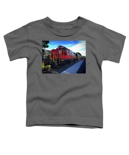 Blue Ridge Railway Toddler T-Shirt