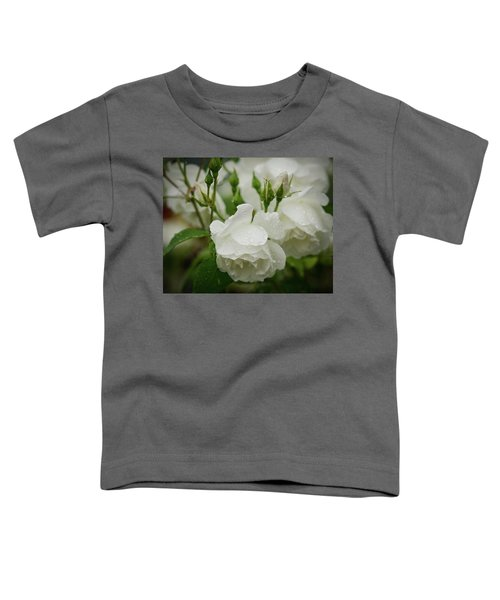 Rain Drops In Our Garden Toddler T-Shirt