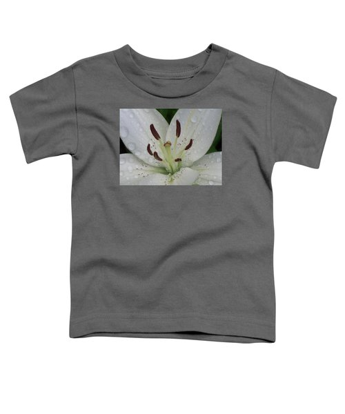 Rain Drops On Lily Toddler T-Shirt