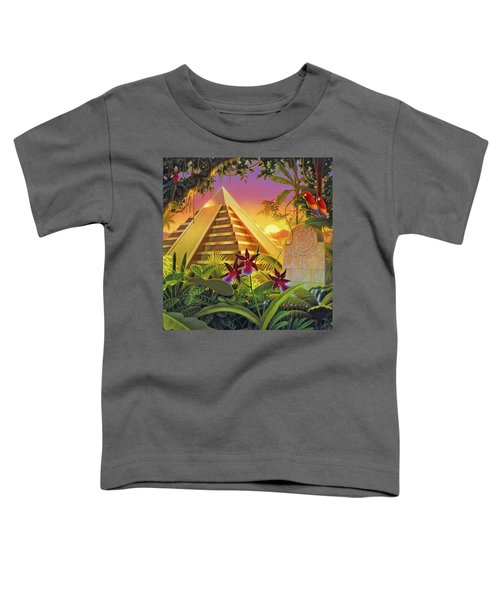 Rain Forest Pyramid  Toddler T-Shirt