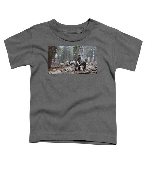 Rain Riding Toddler T-Shirt