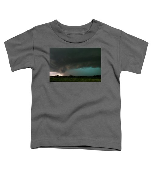 Rain-wrapped Tornado Toddler T-Shirt