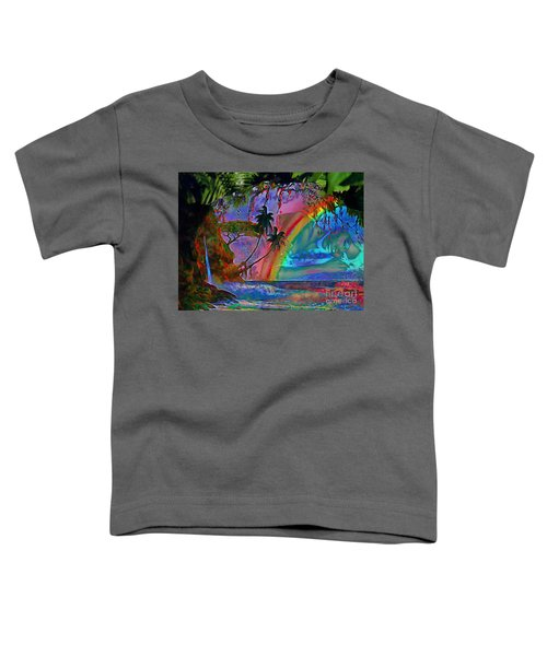 Rainboow Drenched In Layers Toddler T-Shirt