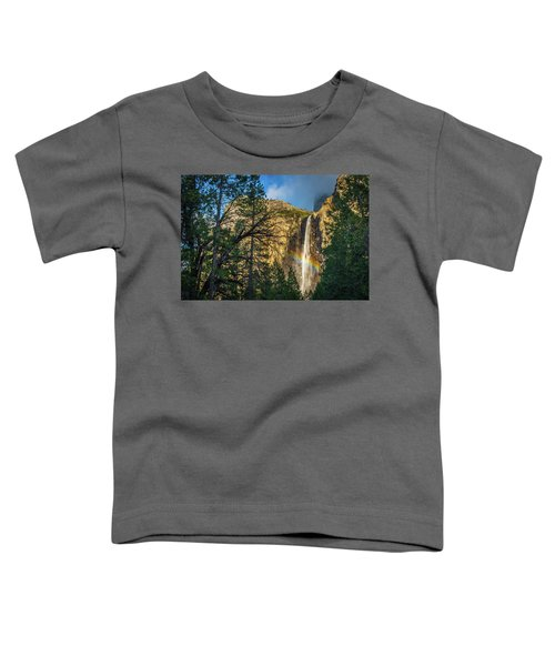 Rainbow And Bridalveil Fall Toddler T-Shirt