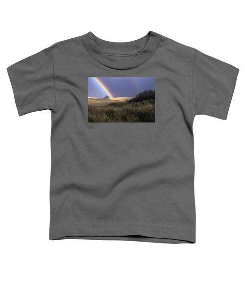 Rainbow And Dunes Toddler T-Shirt