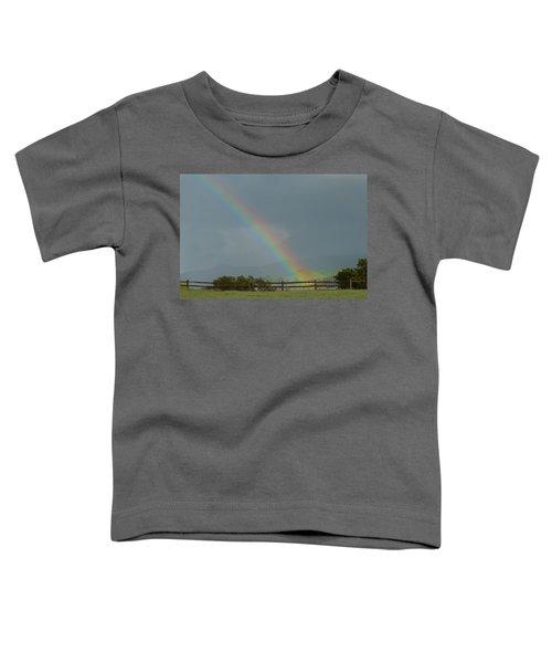 Rainbow On Valhalla Dr. Toddler T-Shirt