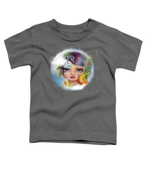 Rainbow Rosalie  Toddler T-Shirt