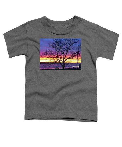 Rainbow Sunset Toddler T-Shirt