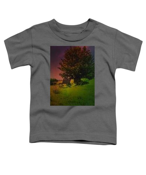 Rainbow Sunset Toddler T-Shirt