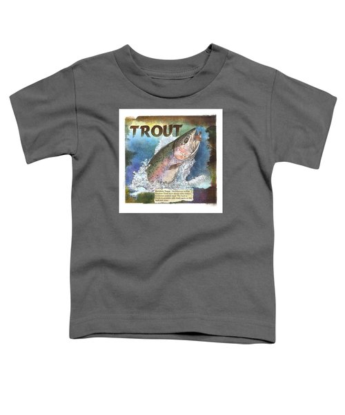 Rainbow Trout Toddler T-Shirt