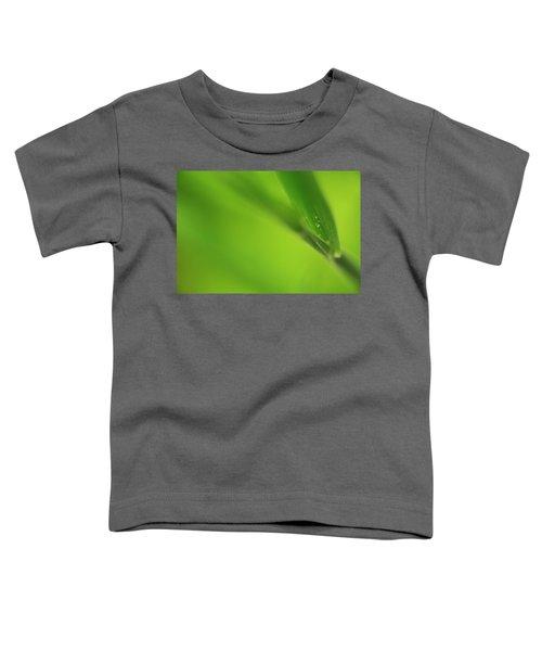 Raindrop On Grass Toddler T-Shirt