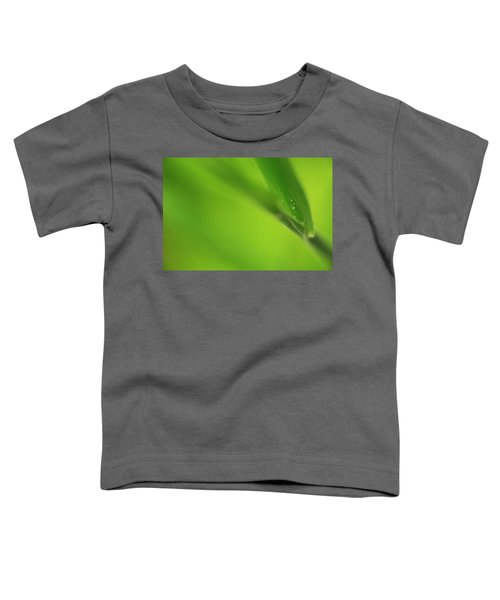 Raindrop On Grass Toddler T-Shirt