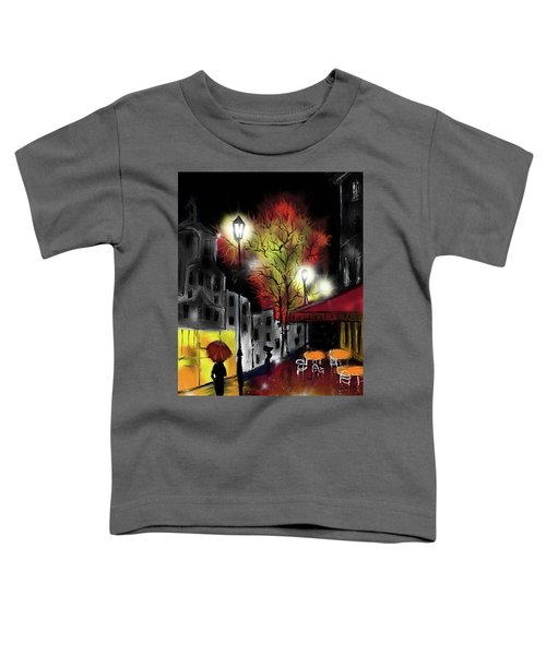 Raining And Color Toddler T-Shirt