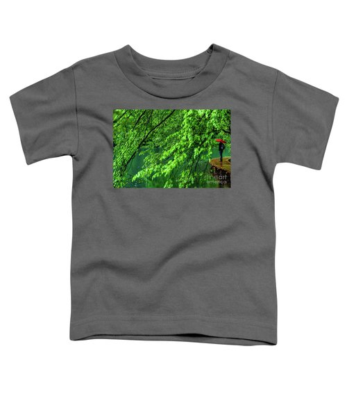 Raining Serenity - Plitvice Lakes National Park, Croatia Toddler T-Shirt