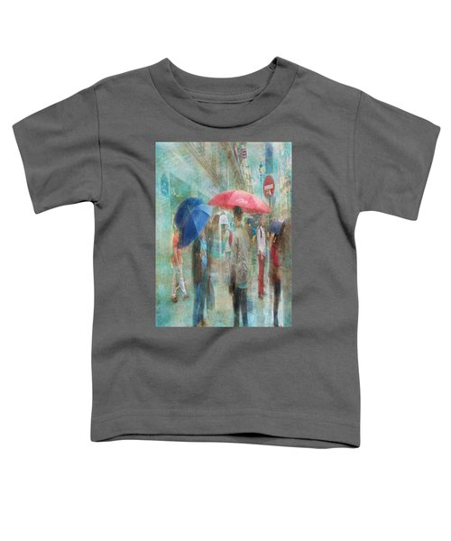 Rainy In Paris 6 Toddler T-Shirt