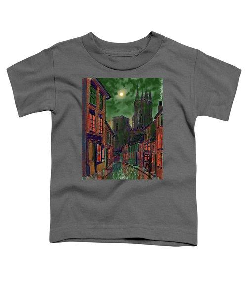 Rainy Night In Kirkgate Toddler T-Shirt