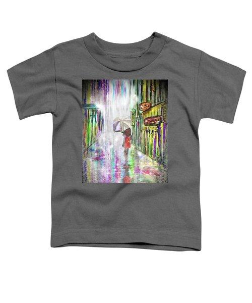 Rainy Paris Day Toddler T-Shirt