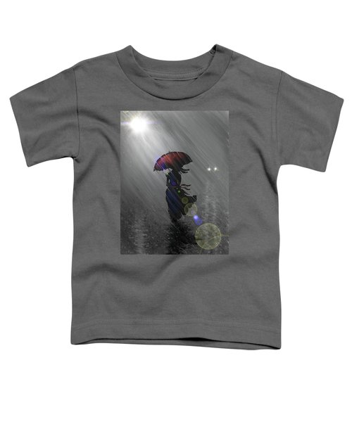 Rainy Walk Toddler T-Shirt