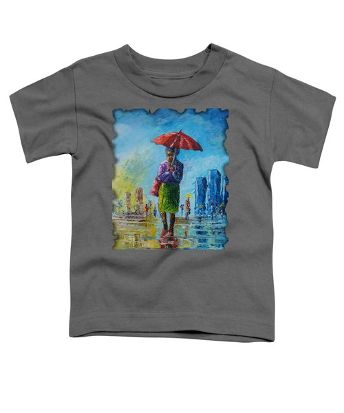 Rainy Day Toddler T-Shirt