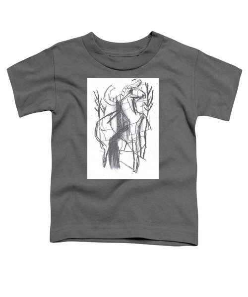 Ram In A Forest Toddler T-Shirt