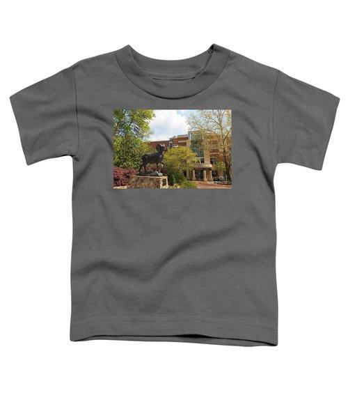 Ramses The Bighorn Ram Sculpture Toddler T-Shirt
