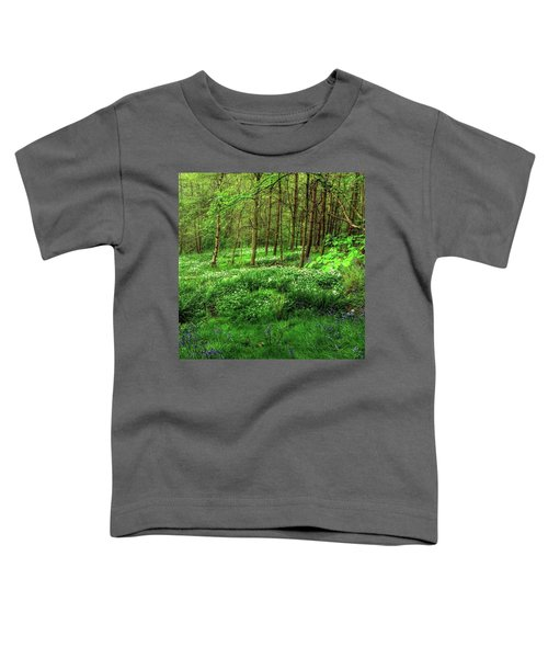 Ramsons And Bluebells, Bentley Woods Toddler T-Shirt