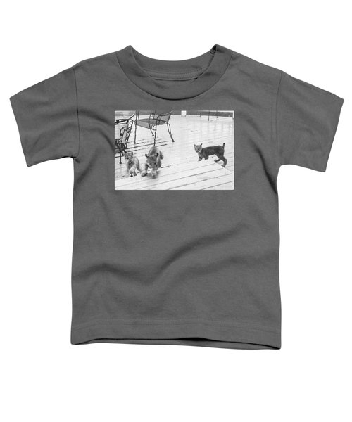 Relay Chase Toddler T-Shirt