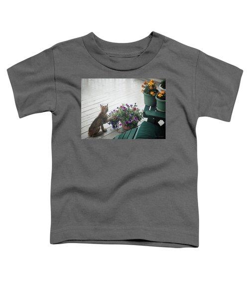 Swat The Petunias Toddler T-Shirt