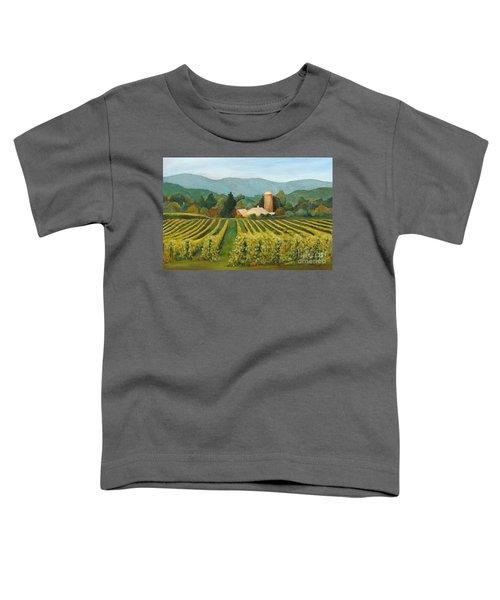 Raspberry Rows Toddler T-Shirt