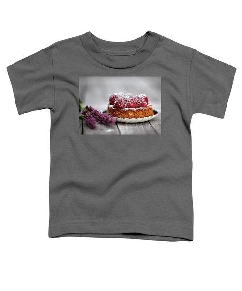Raspberry Tarte Toddler T-Shirt by Nailia Schwarz