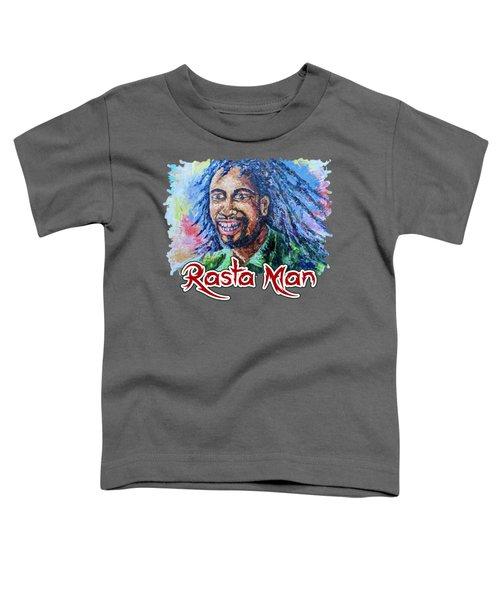 Rasta Man Toddler T-Shirt