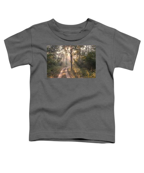 Rays Through Jungle Toddler T-Shirt