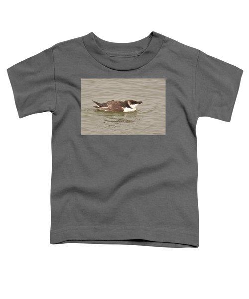 Razorbill Toddler T-Shirt by Alan Lenk