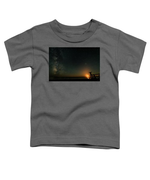 Toddler T-Shirt featuring the photograph Reach For The Stars by Doug Gibbons