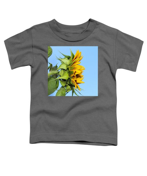 Reaching Sunflower Toddler T-Shirt