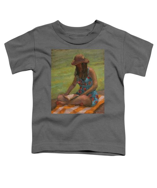 Reading At Jersey Valley Toddler T-Shirt