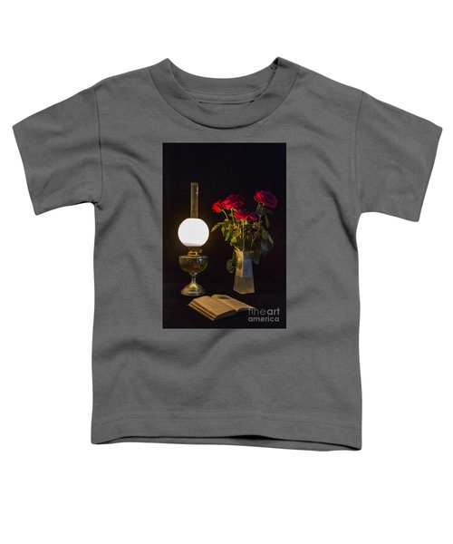 Reading By Oil Lamp Toddler T-Shirt