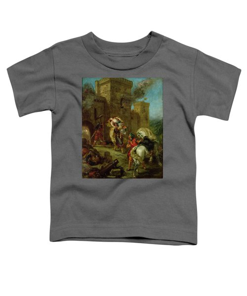 Rebecca Kidnapped By The Templar Toddler T-Shirt