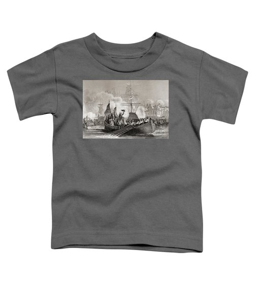 Reception Of President Washington At New York Usa April 23rd, 1879 Toddler T-Shirt