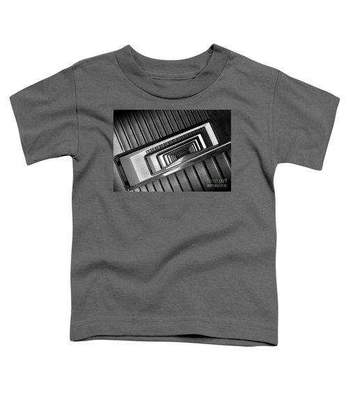 Rectangular Spiral Staircase Toddler T-Shirt