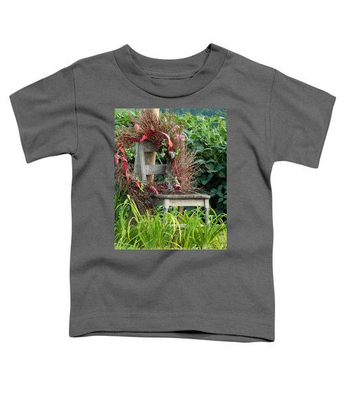 Recycled Welcome Toddler T-Shirt