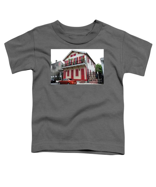 Red And Tan House Toddler T-Shirt