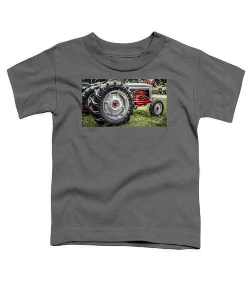 Red And White Ford Model 600 Tractor Toddler T-Shirt