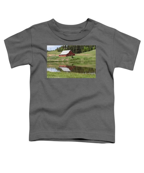 Red Barn Burgess Res Divide Co Toddler T-Shirt