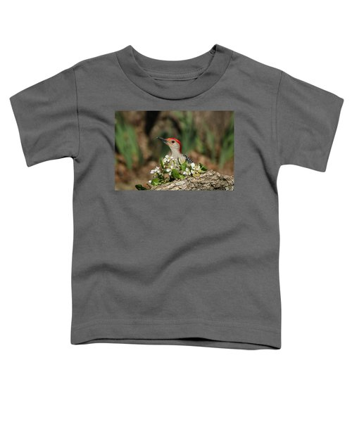 Red-bellied Woodpecker In Spring Toddler T-Shirt